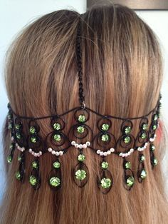 Victorian Royalty Hair Jewelry      $19  https://www.etsy.com/listing/97972618/black-metal-victorian-style-head-jewelry