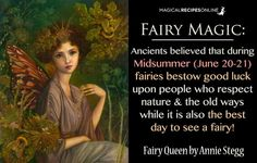 5 Magical Things to do in Summer Solstice - Magical Recipes Online Fairy Dust, Fairy Land, Fairy Tales, Magick Spells, Witchcraft, Wiccan, Fairy Spells, Fairy Quotes, Love Fairy