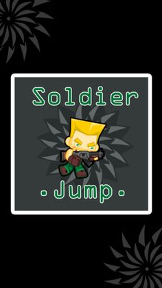 Soldier Jump for life Super Mario Run, Ipod Touch, Iphone, Life