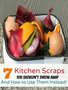 Foods Scraps may always seem like trash, but there are actually 7 Kitchen Food Scraps You Should Never Throw Away! Check out It shocked me! Regrow Celery, Stale Bread, Frugal Living Tips, Food Waste, Kitchen Hacks, Yummy Treats, Yummy Food, Saving Money, Saving Tips
