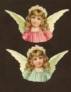 Angel die cuts...