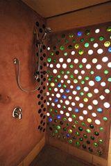earthship bathtubs | Brighton Earthship http://www.lowcarbon.co.uk/earthship-brighton