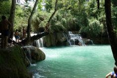 Kuang Si Falls , Luang Phabang , Laos