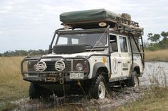 Land Rover Defender 130 Expedition Vehicle