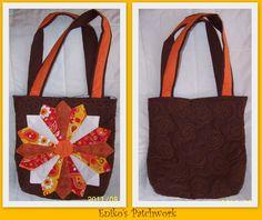 patchwork sun bag