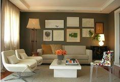 Sofa e poltronas claras