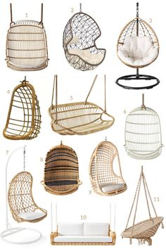 11 Gorgeous Hanging Chairs You Can Buy + 17 Real Spaces Using Them!