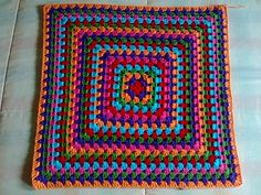 Granny Square Crochet Pattern, Crochet Poncho, Crochet Patterns, Crochet Symbols, Aboriginal Art, Blanket, Knitting, Bags, Just Love