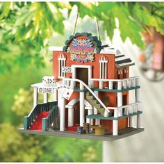 JACKPOT CITY BIRDHOUSE, , The Decor Source, The Decor Source