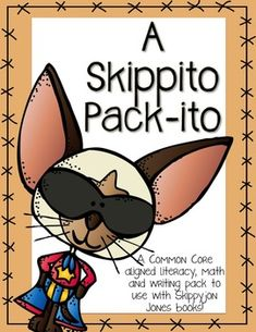 Skippyjon Jones Mega pack!  Almost 100 pages to use with the books in the Skippyjon Jones series!  $  Also includes pages to RESEARCH Siamese Cats and Chihuahuas to cover those standards!