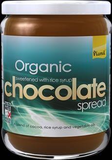 Επάλειμμα Σοκολάτας Χωρίς Ζάχαρη (χ. γλουτένη) - 275γρ Organic Chocolate, Cocoa, Theobroma Cacao, Hot Chocolate