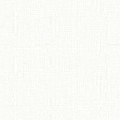 올굵은 격자형 직물 위에 격자형 펄 무늬가 올라간 화이트 컬러 벽지