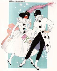 I Pierrot innamorati