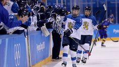 Finland hammers Sweden, advances to semifinals.Finland hammers Sweden, advances to semifinals