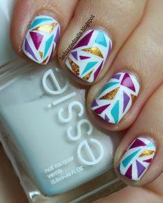 The Coolest Mosaic Nail Art Ideas | ko-te.com by @evatornado