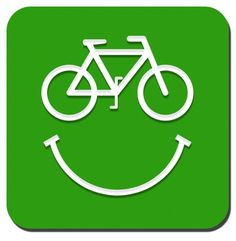 be happy in a bike