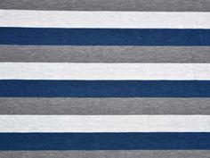 Jersey Streifen 1,7 cm, dunkelblau/grau Contemporary, Home Decor, Dark Blue, Darkness, Stripes, Grey, Nice Asses, Decoration Home, Room Decor