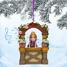 Rapunzel Singing Sketchbook Ornament - Tangled