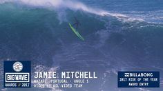Jamie Mitchell at Nazaré 1- 2017 Billabong Ride of the Year Entry - WSL ...