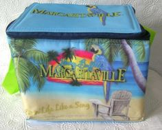 New Jimmy Buffett Margaritaville  Cooler / Insulated Lunch Bag  FREE SHIPPING