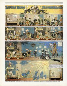 """#LIBRO #COMIC #HISTORIA #CROWDFUNDEADO #CROWDFUNDING Edición de """"Narraciones gráficas"""", libro sobre historia del cómic, a color y en amplio formato. Un recorrido por las narraciones visuales de la antigüedad, los códices medievales, las primeras narraciones con viñetas en estampas, la tira cómica hasta llegar al cómic y la novela gráfica. Estampas secuenciales. W. MCCAY (1906)- Little Nemo in Slumberland. http://www.verkami.com/projects/8537-narraciones-graficas Crowdfunding verkami"""