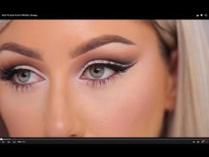How To Create A Cut Crease With Eyeshadow So Your Eyes Look Bigger & Brighter — PHOTOS
