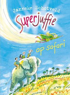 Superjuffie op safari – leuk kinderboek