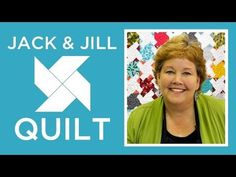 The Jack and Jill Quilt: Easy Quilting Tutorial with Jenny Doan of Missouri Star Quilt Co - YouTube