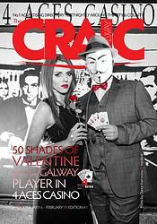 The CRAIC 41 with the Galway Player at 4 Aces Casino in print The 4, Movies, Movie Posters, Fictional Characters, Films, Film Poster, Cinema, Movie, Film