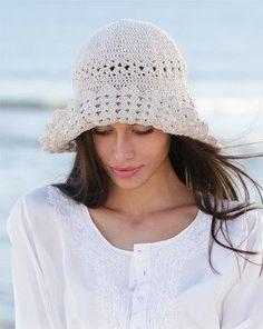 Sombrero a ganchillo con patrón