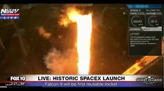 HISTORY: SpaceX Falcon 9 Launch - First Reusable Rocket For SpaceX (FNN)