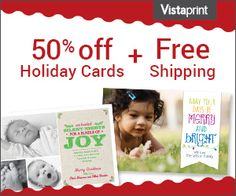 Holiday Cards and receive 50% off and free shipping - http://extremecouponprofessors.net/2013/11/holiday-cards-receive-50-free-shipping/