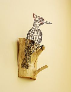 wire-sculpture-Pileated-Woodpecker-back-right | Flickr: Intercambio de fotos