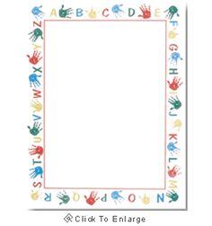 Alphabet Border Kids Laser & Inkjet Printer Paper - $12.99 - http ...