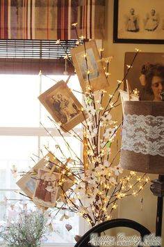 Creative Country Mom: A Little Sunlit Tour of my Vintage Style Office