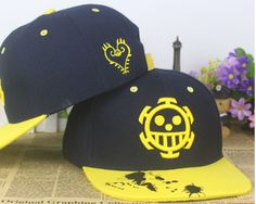 One Piece Trafalgar D. Water Law Skull Hip Hop Hat Cap Snapback #OnePiece #TrafalgarD.WaterLaw #Skull #HipHop #Hat #Cap #Snapback
