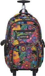 Lyc Sac Zippit Trolley Grey Blooming 10951 Backpacks, Grey, Bags, Gray, Handbags, Backpack, Backpacker, Bag, Backpacking