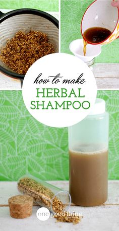 Having healthy, beautiful hair doesn't require expensive hair treatments. You can make your own herbal shampoo at home that's not only inexpensive, but is customizable for your hair care needs! care at home Make Your Own Customized Herbal Shampoo Natural Shampoo, Natural Hair Care, Natural Hair Styles, Natural Beauty, Natural Makeup, Organic Shampoo, Diy Shampoo, Shampoo Bar, Diy Hair Care