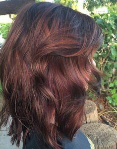 Kupfer Carmel Haar
