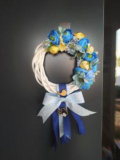 Hanukkah, Mandala, Wreaths, Home Decor, Art, Homemade Home Decor, Craft Art, Door Wreaths, Kunst