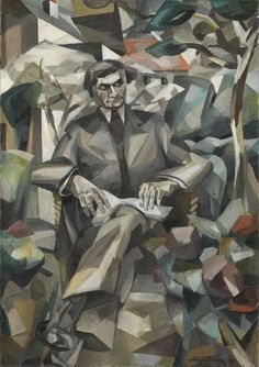 Albert Gleizes, 'Portrait of Jacques Nayral' 1911