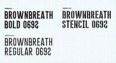 Brownbreath Font – Brownbreath Official