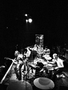Allman Brothers Band, Gaelic Park Sports Center, The Bronx, New York, 1972: David Gahr.