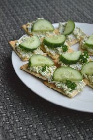 Lekkere Peterselie Feta spread