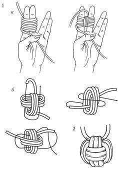 Diy Jewelry Ideas : Monkey's Fist & Heaving Line Knot Macrame Art, Macrame Knots, Macrame Jewelry, Paracord Projects, Macrame Projects, Monkey Fist Knot, Survival Knots, Paracord Braids, Knots Guide