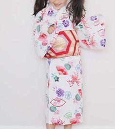 Handmade Yukata (summer kimono) for sewpony guest post | Sanae Ishida