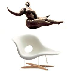 Vitra la chaise charles et ray eames charles and rae eames pinterest eames - Chaises charles et ray eames ...