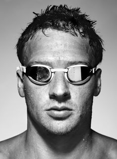 """Martin Schoeller for TIME Ryan Lochte, Olympic Athlete, Swimming. From """"Rivalries"""" in TIME's 2012 Olympics Special Issue, July Martin Schoeller, Olympic Swimmers, Olympic Athletes, Best Portraits, Celebrity Portraits, Audrey Hepburn, Mark Forster, Lolo Jones, Foto Sport"""