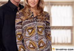 Maßgeschneiderte Bivolino Damenblusen. Probieren Sie die Fashion Konfiguration für alle modischen Fashion Stoffe aus. Kreieren Sie Ihre eigenen Kontraste und Designs ganz nach Ihrem Geschmack.