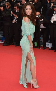 Cannes Glamour From Eva Longorias Best Looks The Actress Appears At The Premiere Of Jimmy P Psychotherapy Of A Plains Indian At The Th Annual Cannes